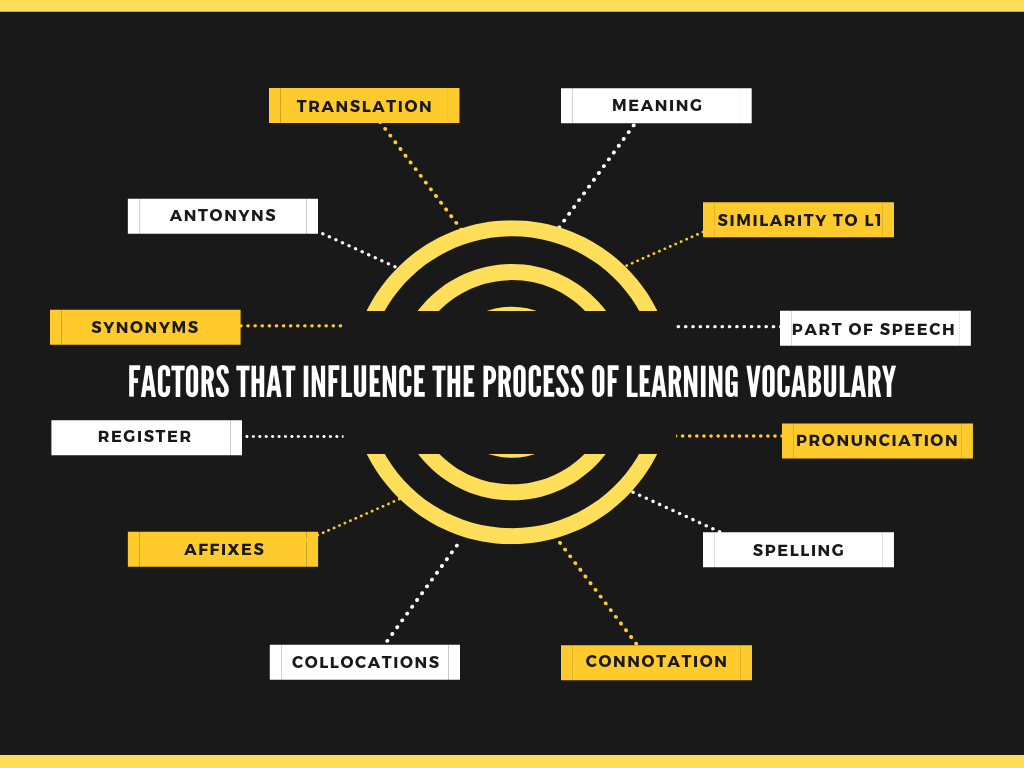 Factors that influence vocabulary